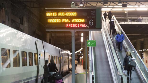 Imagen tomada en la estación de Castellón