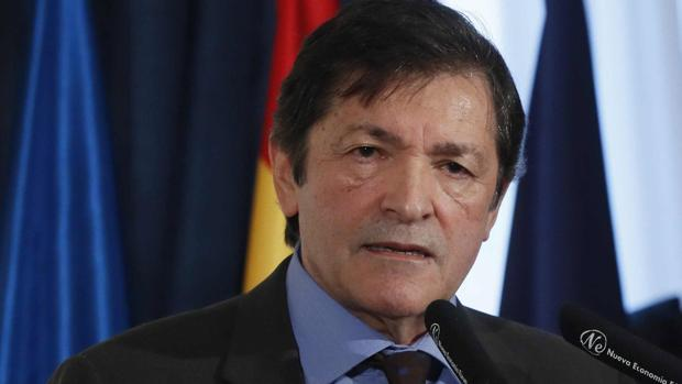 Javier Fernández, presidente de Asturias