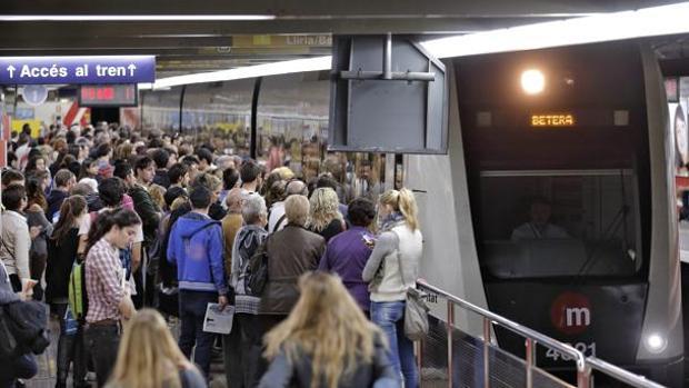Imagen de archivo de las instalaciones del Metro de Valencia