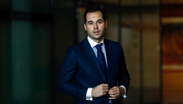 Ignacio Aguado, portavoz de Ciudadanos en la Comunidad de Madrid