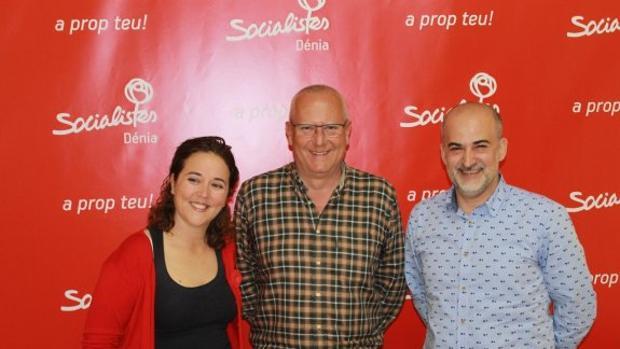 Imagen de archivo de Javier Scotto, a la derecha