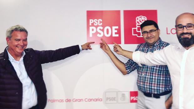 Franquis, Pérez y Romero esta semana en la capital grancanaria