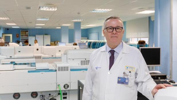 El actual gerente del Hospital Clínico Universitario de Valladolid, Javier Vadillo