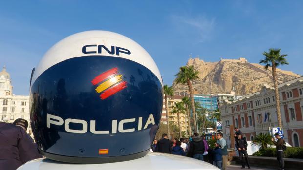 Imagen de un acto de la Policía Nacional celebrado en Alicante