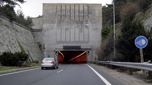 Imagen de archivo del túnel de Guadarrama
