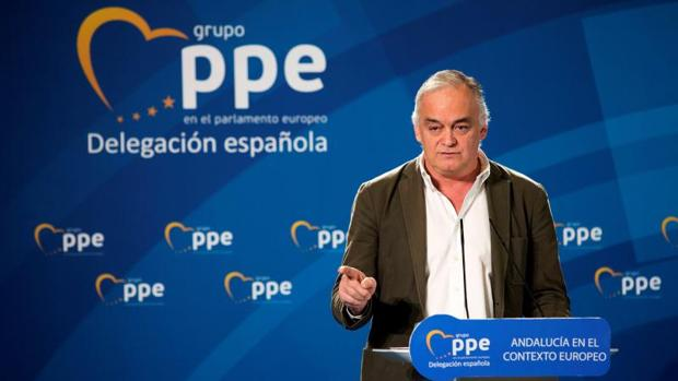 González Pons, durante la cumbre de este sábado en Málaga con eurodiputados del PPE