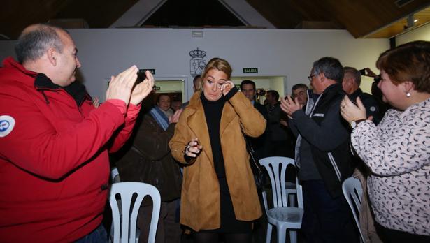 Lydia Valentín recibe el homenaje de Camponaraya (León), su localidad natal