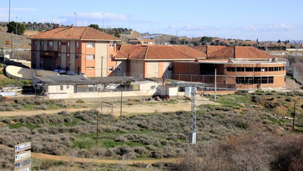 Instalaciones del destacamento de Tráfico de Toledo