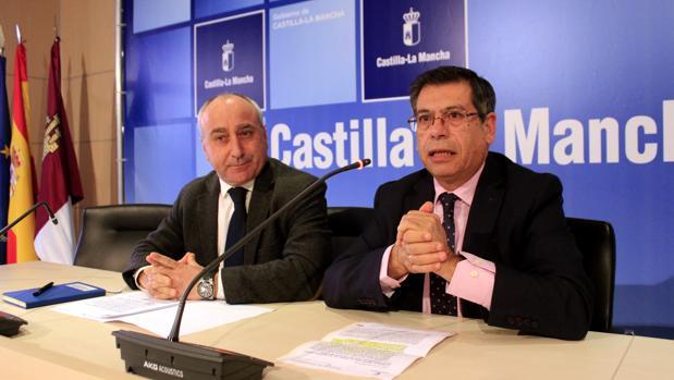 Javier Nicolás y Julián Martín en rueda de prensa