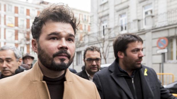El diputado de ERC en el Congreso Gabriel Rufián