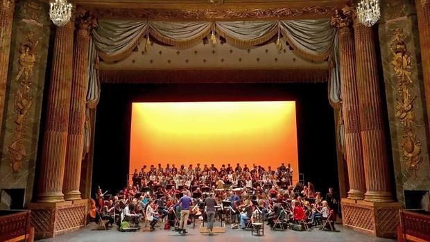 La Orquesta Sinfónica de Castilla y León en la Ópera de Versalles
