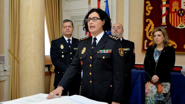 Montserrat Marín ha prometido su cargo este martes en Palencia