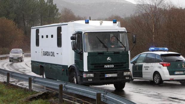 El Chicle fue trasladado al penal de A Lama (Pontevedra) el pasado 10 de enero