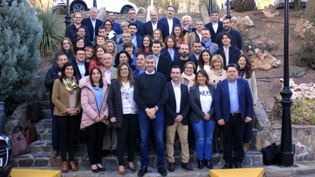 La Ejecutiva recién renovada del PSOE provincial