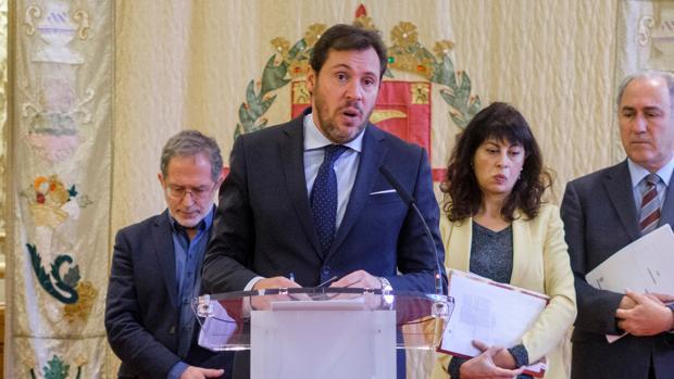 El alcalde de Valladolid, Óscar Puente, en una imagen de arichivo