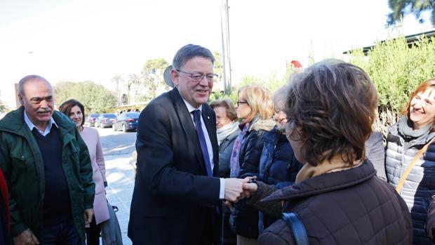 Imagen de Ximo Puig este martes