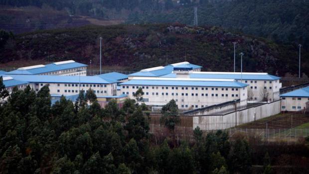 Vista del penal pontevedrés de A Lama
