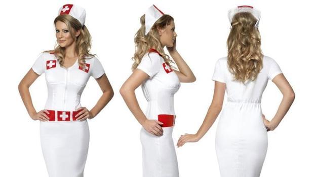 Propuesta de disfraz de enfermera, criticado por el sindicato Prosagal