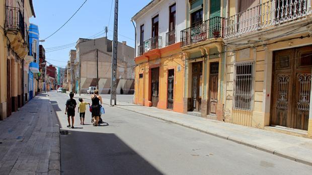 Imagen de archivo del barrio del Cabanyal de Valencia