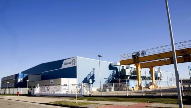 La planta de Siemens Gamesa en Miranda de Ebro (Burgos)