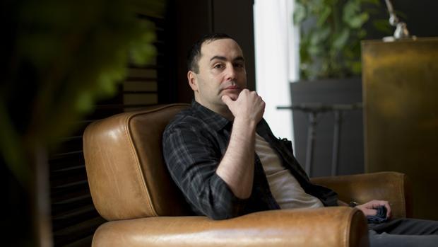 Ray Celestin, fotografiado en un hotel de Barcelona