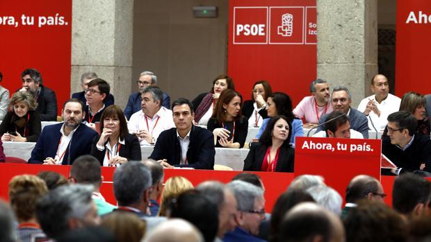 Último Comité Federal del PSOE, celebrado en Alcalá de Henares