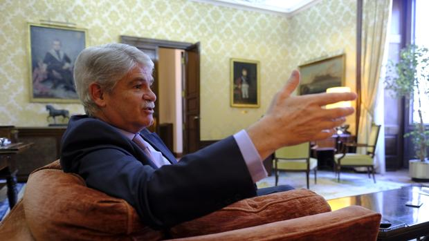 Alfonso Dastis, en el Ministerio de Asuntos Exteriores