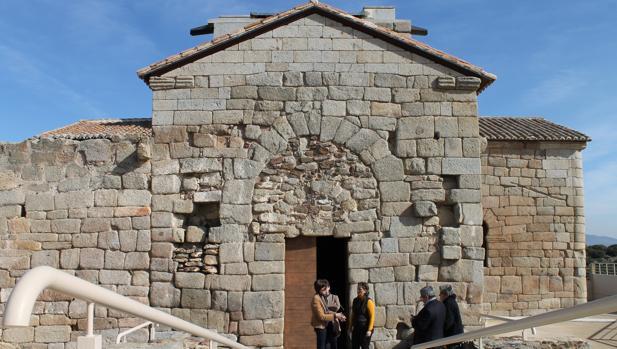 La iglesia de Santa María de Melque es el edificio mejor conservado del período visigodo en la península Ibérica