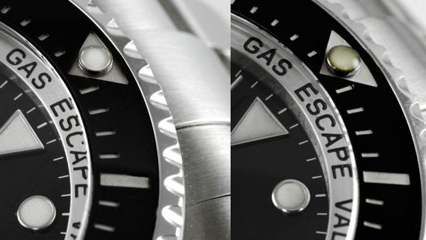 Un detalle para detectar un Rolex original y uno falso