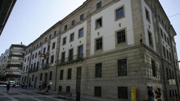 Exterior del edificio de la Audiencia Provincial de Pontevedra