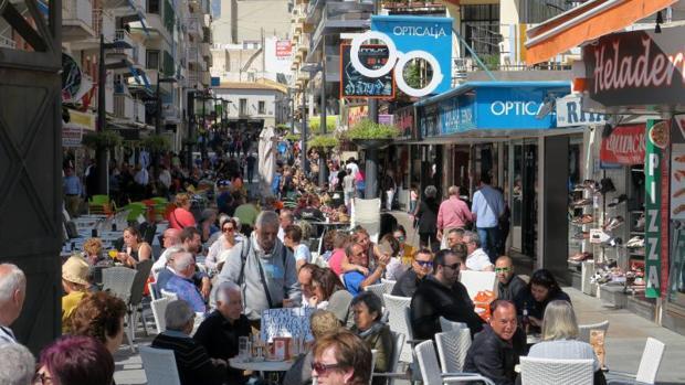 Comercio y hostelería en Benidorm