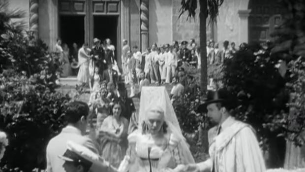 Secuencia de «Habanera» rodada en seis meses de 1937 en Canarias
