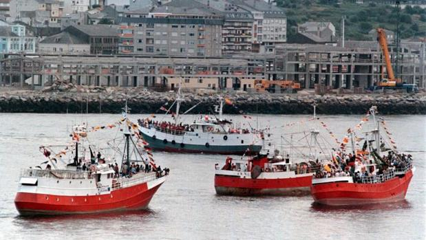 Imagen de archivo del puerto de Viveiro