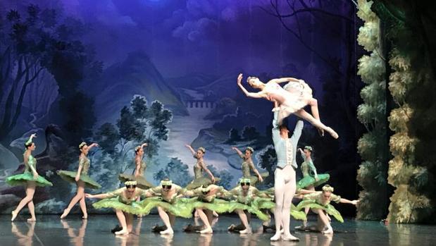 Una de las escenas del espectáculo «La Bella durmiente» que llega este sábado a Toledo
