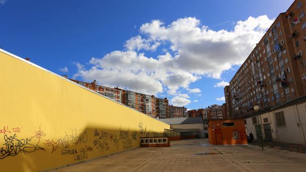 Edificios del barrio de Gamonal (Burgos)