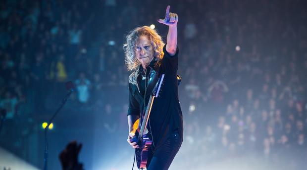 Un concierto reciente de Metallica