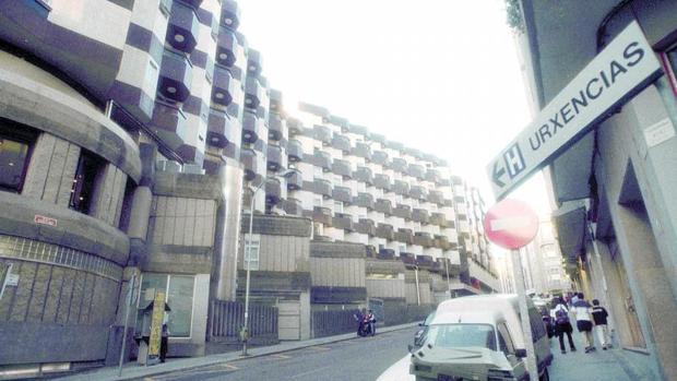 Inmediaciones del hospital Povisa de Vigo