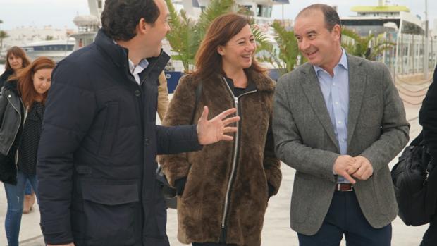 La presidenta del Gobierno balear, la socialista Francina Armengol, en Formentera