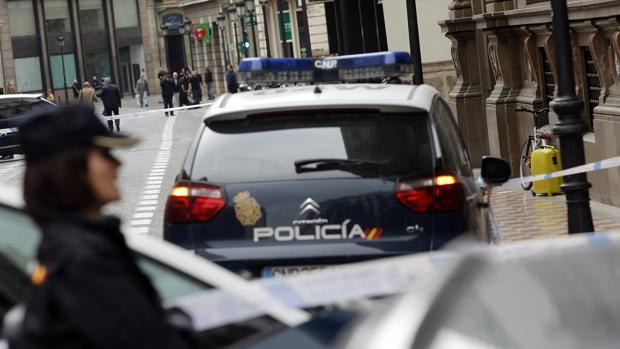 Imagen de archivo de la Policñia Nacional en Valencia