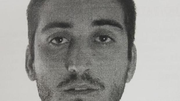 Imagen del detenido difudida por la Policía durante el dispositivo de búsqueda