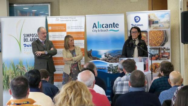 Un momento del III Simposio del Arroz en Alicante, este lunes