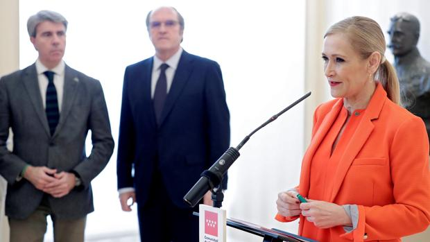 Cristina Cifuentes renuncia a usar los servicios jurídicos de la Comunidad de Madrid y se defenderá a modo particular