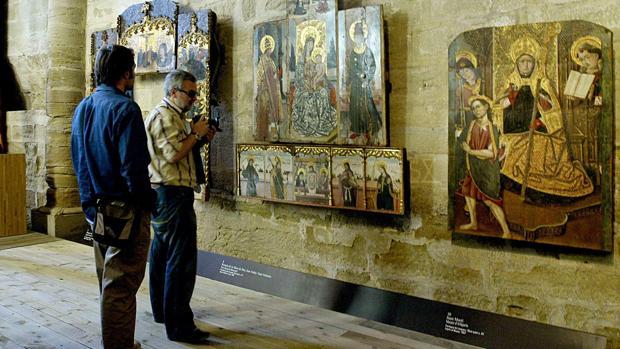 El Museo de Lérida retiene más de cien obras de arte sacro aragonesas, los conocidos como «bienes de la Franja»