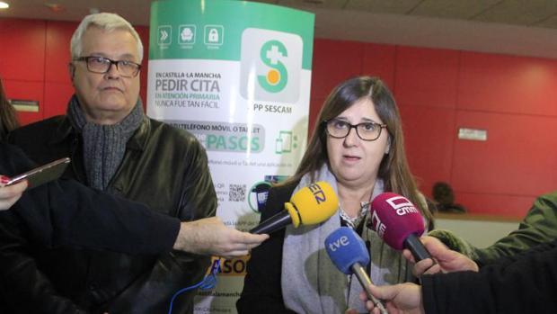 Reginal Leal es la gerente del Servicio de Salud de Castilla-La Mancha (Sescam)