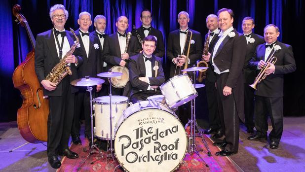 Integrantes de la Pasadena Roof Orchestra
