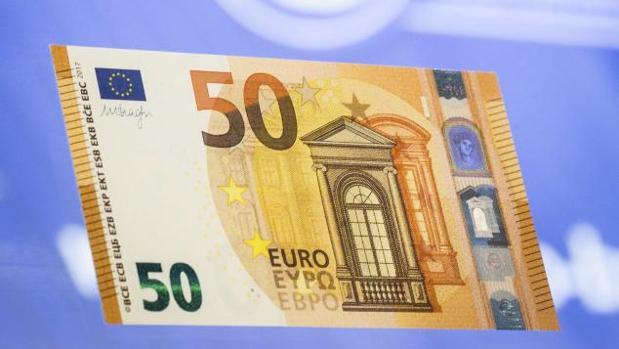 Billete de 50 euros de curso legal