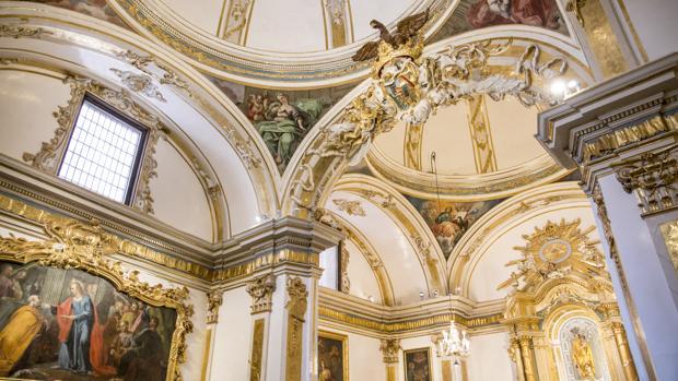 Capilla de la Comunión de la Iglesia de San Nicolás tras ser restaurada