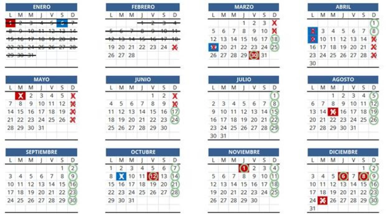 Nuevos horarios comerciales en valencia calendario con - Casa del libro valencia horario ...