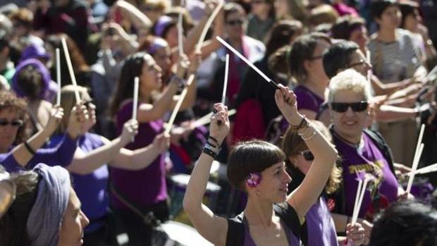 Imagen de una protesta feminista