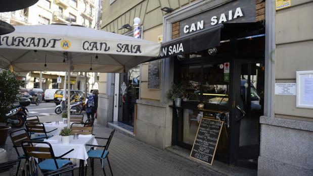 Exterior del restaurante Can Saia